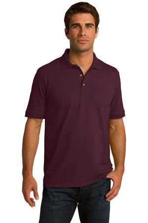 ba5103a9 Port & Company 5.5-Ounce Jersey Knit Polo. KP55 At Wholesale Prices