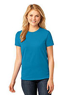 Port & Company Ladies 5.4-oz 100% Cotton T-Shirt. LPC54